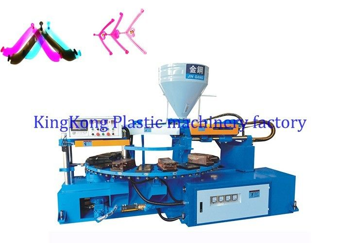 PVC Flip Flop Strap / Shoe Injection Molding Machine Low Noise Single Color