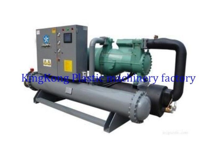 Water Chiller Compressor Machine , Industrial Water Cooled Screw Chiller 14500 Kcal/hr