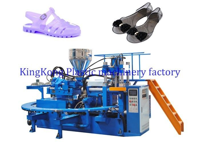 PVC Heel Jelly Shoe Making Machine Women Flat Jewelry Sandal Making Machine